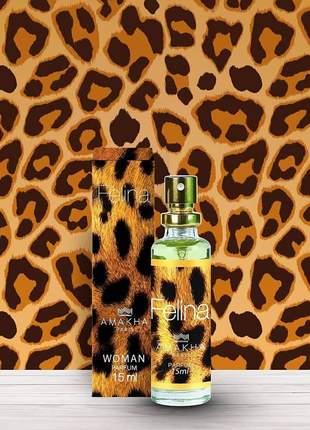 Perfume feminino felina de bolso amakha paris 15ml - parfum