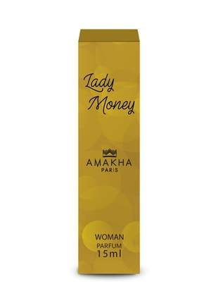 Perfume feminino lady money 15 ml amakha paris - parfum