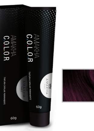 Tintura capilar amakha color 60g - marsala 8.26 amakha paris