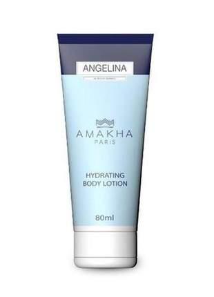 Creme hidratante corporal angelina 80ml amakha paris