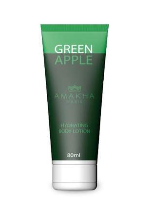 Creme hidratante corporal green apple 80ml amakha paris