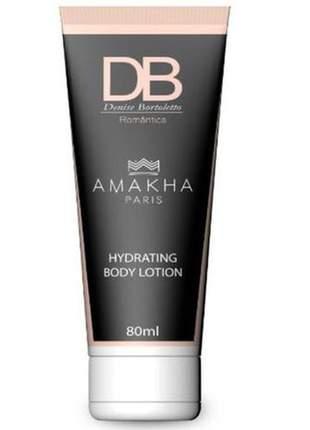 Creme hidratante corporal db romântica 80ml amakha paris
