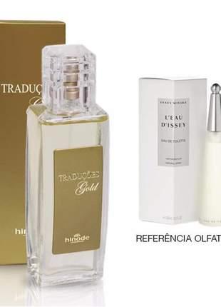 Perfume traduções gold nº 35 l eau d issey -100 ml