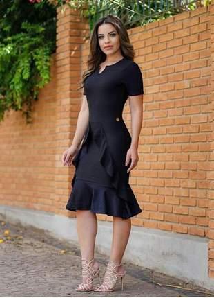 Vestido moda evangélica.
