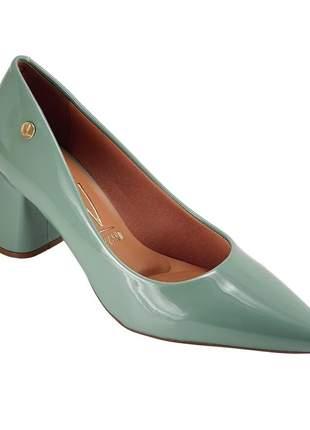 Sapato scarpin vizzano salto bloco verde menta 1342