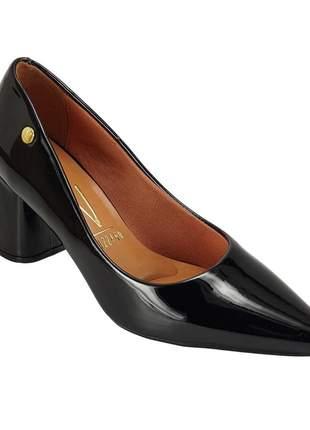 Sapato scarpin vizzano salto bloco 1342 preto