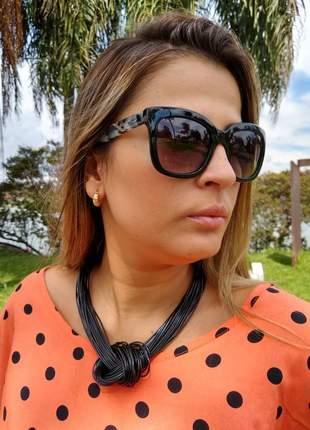 Kit 2 colares femininos moda casual