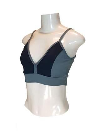 Top sem bojo feminino cavado moda fitness academia sutiã esportivo cores
