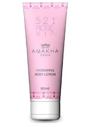 Hidratante corporal feminino 521 vip rosé 80ml amakha paris