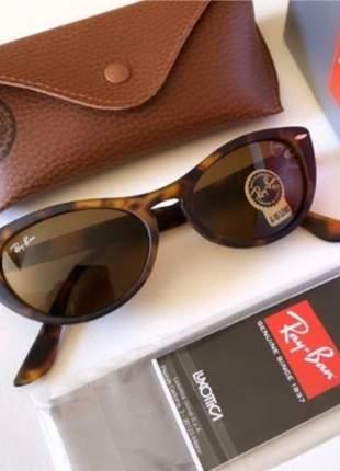 Óculos de sol ray-ban nina rb4314 leia o anúncio, me informe a cor em caso de dúvida.