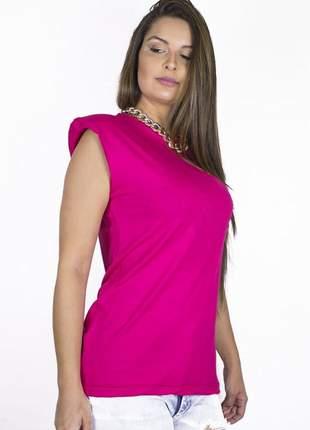 Muscle tee pink