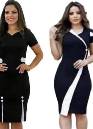 Kit com 2 vestidos moda evangélica