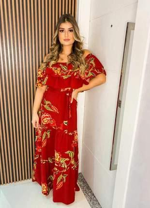 Vestido cigana vermelho