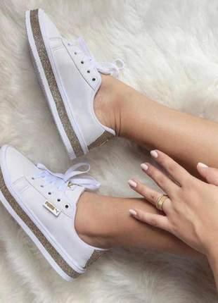 Tênis puma casual - branco