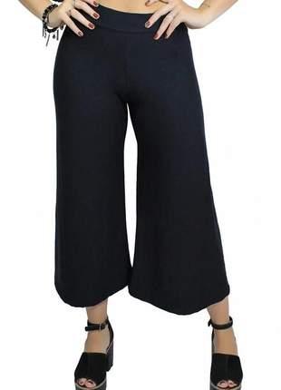 Calça feminina pantacourt viscolycra radiosa luxo