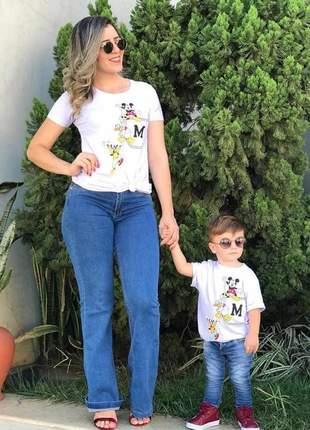 Blusa mãe e filho(a)