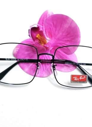 Óculos armação p/ grau ray-ban square