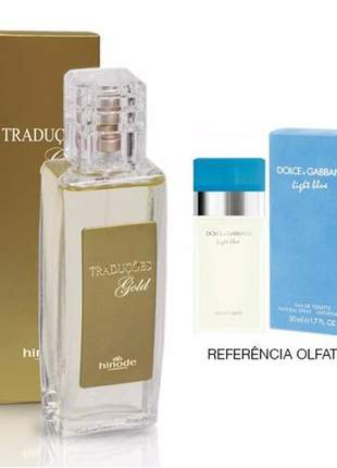 Perfume traduções gold nº 64 dolce & gabbana light blue -100 ml