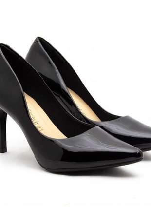 Sapato feminino scarpin  salto alto preto #sapato para festa