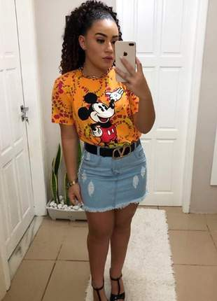 Blusa t-shirt mickey