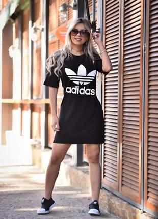 Vestido max tee - black