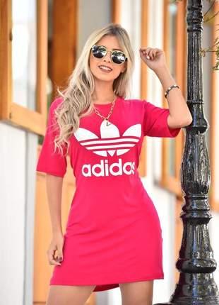Vestido max tee - pink