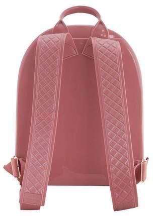 Bolsa petite jolie mochila rosa pj2032 blogueira original