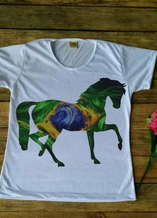 Blusa cavalo brasil