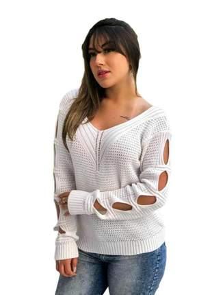 Blusa de frio tricot corrente ref 642