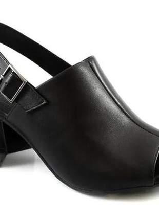 Sandália feminina ramarim open boot 2035102