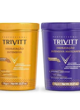 Kit hidratação intensiva + matizante trivitt