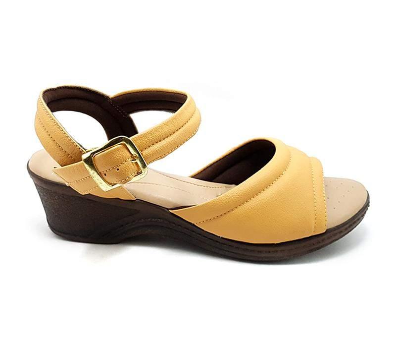 41ed05d60 Sandália feminina confort ortopédica caramelo - R$ 89.90 #7424 ...