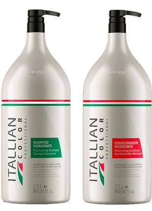 Kit lavatório itallian color shampoo e condicionador