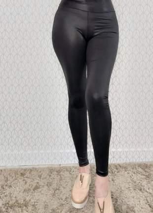 Calça legging cirê cintura alta (disponível do p ao exgg)