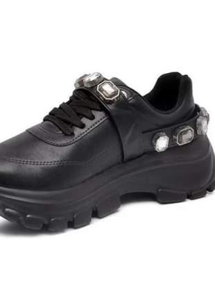 Tênis sneaker feminino vizzano dad instagram 1356102