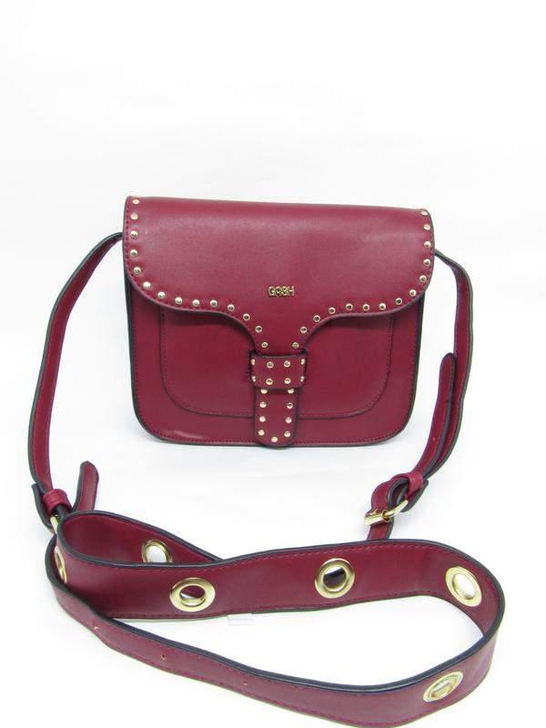 4550549c9 Bolsa feminina transversal tiracolo com tachas gash - R$ 109.99 (de ...
