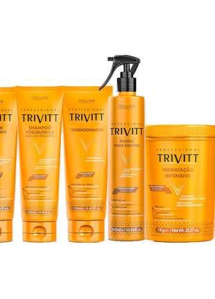 Kit itallian trivitt manutenção + hidratação (6 itens)