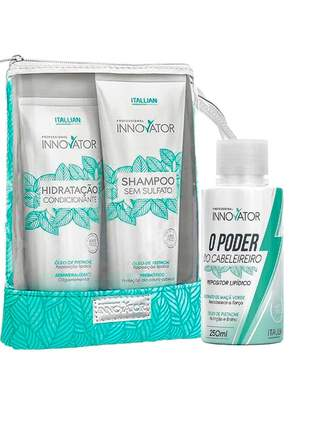 Kit itallian home care + poder do cabeleireiro innovator