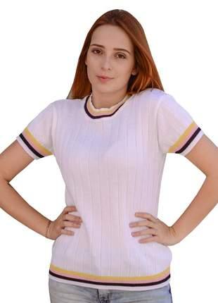 Blusas evangélicas de estudante moda jovem com manguinha