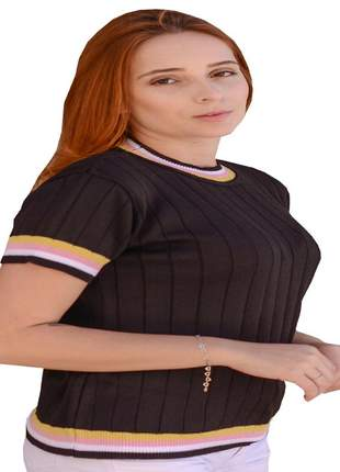 Blusa feminina preta