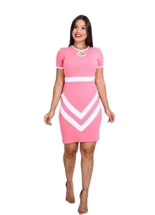 Vestido moda evangélica social ref 604