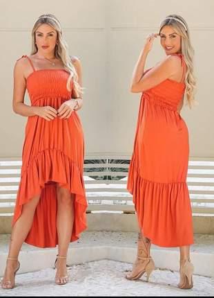 Vestido lastex verão moda lançamento