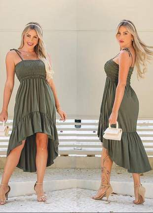 Vestido lastex verão blogueira