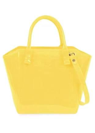 Bolsa petite jolie shape bag pj1770 amarelo