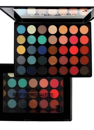 Paleta de sombras best 35 cores palette version 2 sp colors