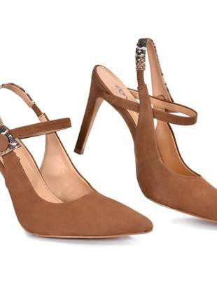 Sapato feminino scarpin salto fino