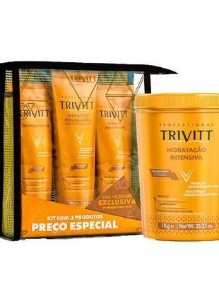 Kit home care manutenção leave-in + hidratação trivitt