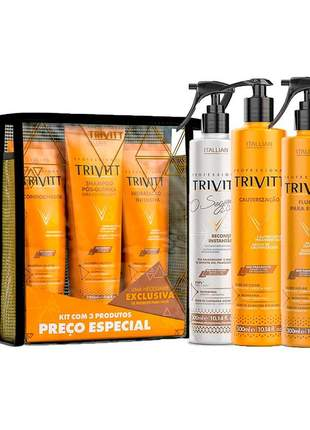 Kit trivitt reconstrução profissional (7 itens)
