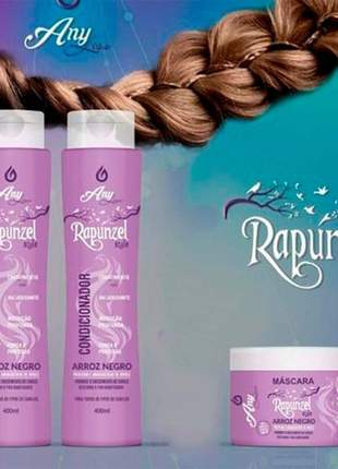 Kit capilar rapunzel any liss