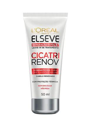 Leave-in de tratamento cicatri renov  elseve reparação total 5+  50ml